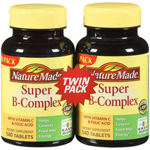 Nature Made Super B-Complex Value Pack Tablets