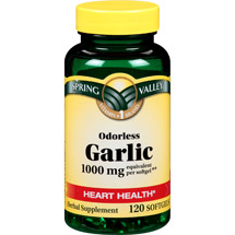 Spring Valley Odorless Garlic Softgels