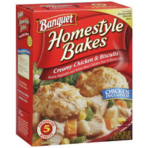 Banquet Homestyle Bakes Creamy Chicken & Biscuits