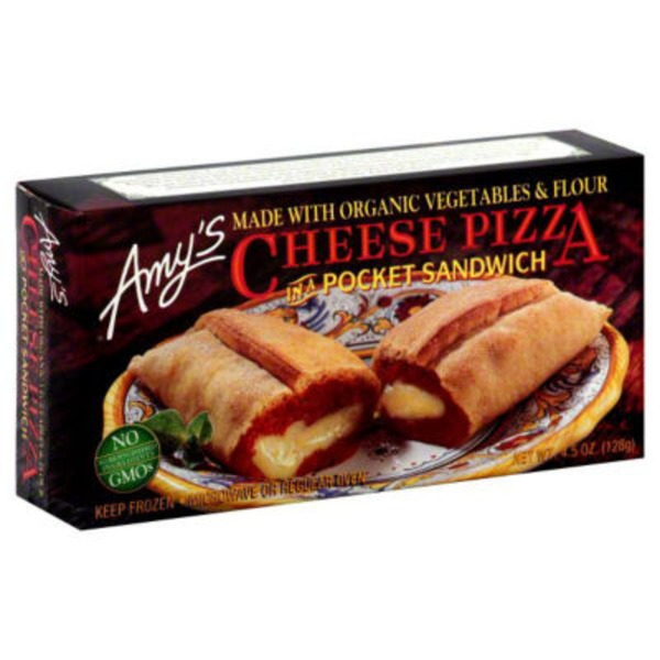 Amy's Cheese Pizza Pocket Sandwich