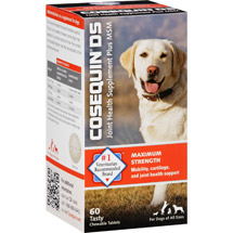 Cosequin DS Joint Health Supplement Plus MSM for Dogs Tablets