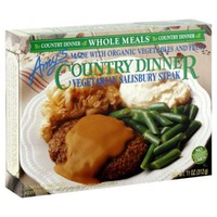 Amy's Country Dinner Organic Vegetarian Salisbury Steak