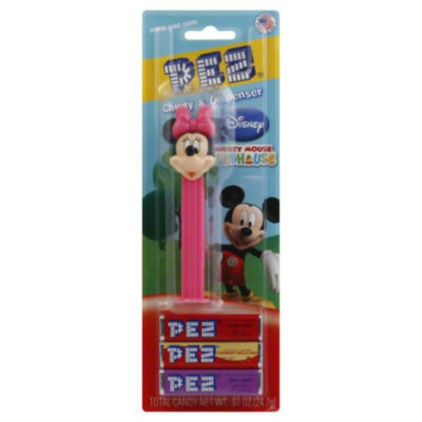 PEZ Disney Micky Mouse Club-House Candy & Dispenser