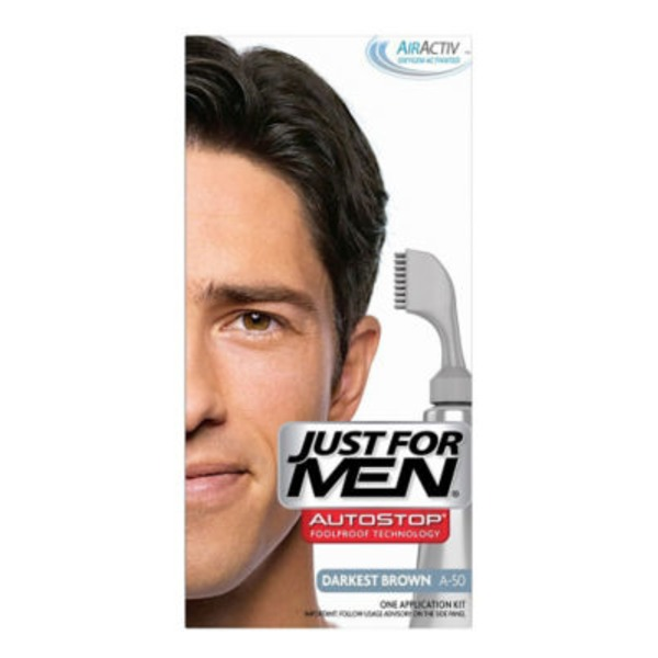 Just For Men Color Application Kit Darkest Brown A-50