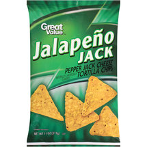 Great Value Jalapeno Jack Tortilla Chips