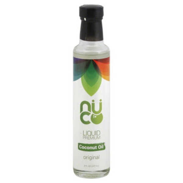 Nuco Liquid Premium Coconut Oil Original