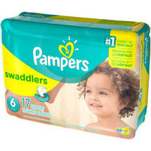 Pampers Swaddlers Diapers Jumbo Pack Size 6