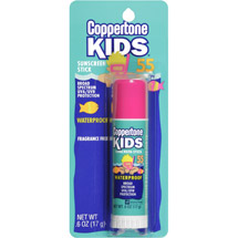 Coppertone Kids Fragrance-Free SPF 55 Sunscreen Stick