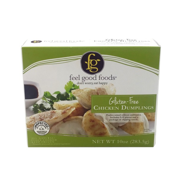 Feel Good Foods Gluten Free Chicken Dumplings