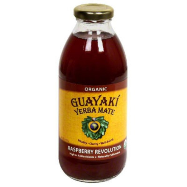 Guayaki Yerba Mate Tea Raspberry