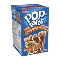 Kellogg's Pop-Tarts Chocolate Chip Cookie Dough Toaster Pastries