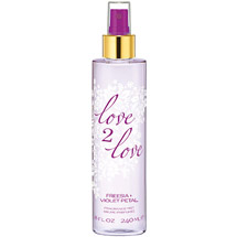 Love2Love Freesia + Violet Petal Fragrance Mist