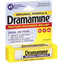 Dramamine Original Motion Sickness Relief Tablets