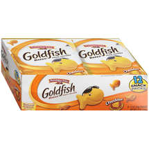 Pepperidge Farm Goldfish Cheddar Baked Snack Packs Crackers