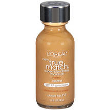 L'Oreal Paris True Match Super-Blendable Liquid Make-Up Classic Tan