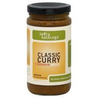 Spicy Nothings Simmer Sauce, Classic Curry, Medium