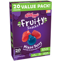 Kellogg's Fruity Snacks Mixed Berry Assorted Fruit Flavored Snacks