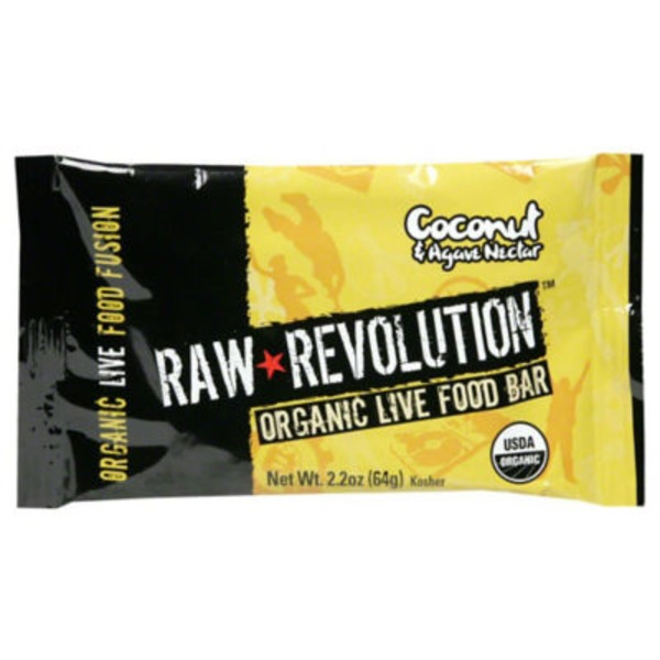 Raw Revolution Organic Coconut Delight Live Food Bar