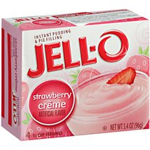 JELL-O Strawberry Creme Instant Pudding & Pie Filling