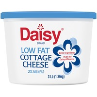 Daisy Pure & Natural Low Fat 2% Milkfat Small Curd Cottage Cheese
