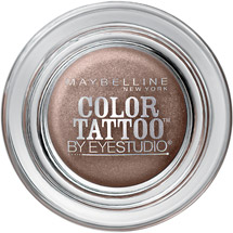 Maybelline Eye Studio Color Tattoo 24 Hour Eyeshadow Bad to the Bronze