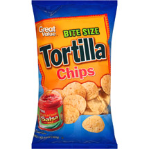 Great Value Tortilla Bite Size Chips