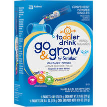 Similac Go & Grow Milk-Based Powder Vanilla Individual Packs