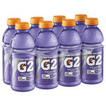 Gatorade G2 Low Calorie Grape Sports Drink 8 Ct/160 Fl Oz