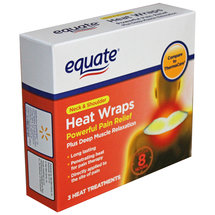 Equate Neck & Shoulder Heat Wraps