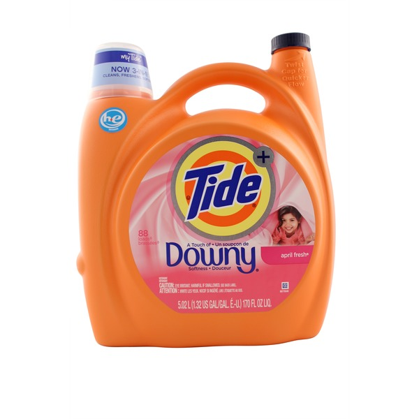 Tide Plus Downy April Fresh Detergent
