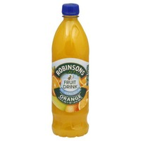 Robinsons Fruit Drink, Orange, Bottle
