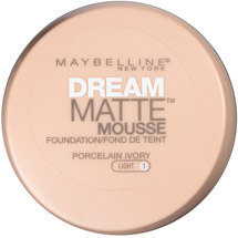 Maybelline Dream Matte Mousse Foundation Porcelain Ivory