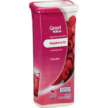Great Value Raspberry Ice Drink Mix