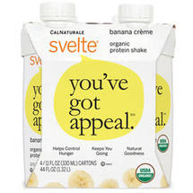 CalNaturale Svelte Banana Creme Protein Drink