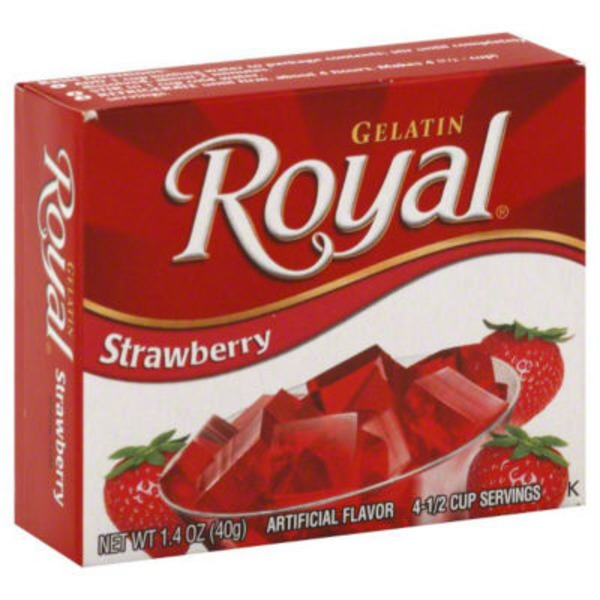 Royal Strawberry Gelatin
