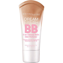 Maybelline Dream Fresh BB Cream Sheer Tint 8-In-1 Skin Perfector Light/Medium Medium/Deep