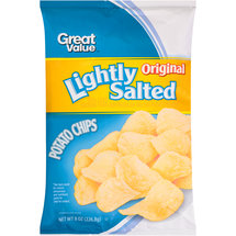 Great Value Original Lightly Salted Potato Chips