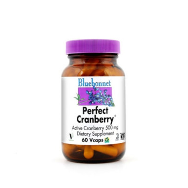 Bluebonnet Perfect Cranberry 500 Mg Vegetarian Capsules