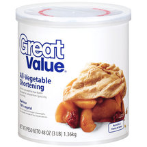 Great Value All-Vegetable Shortening