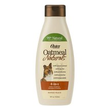 Oster Oatmeal Naturals 4-in-1 Dog Shampoo