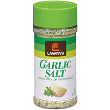 Lawry's Coarse Ground w/Parsley Garlic Salt