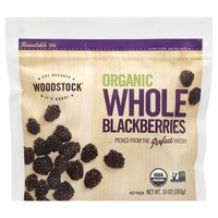 Woodstock Farms Blackberries, Organic, Whole