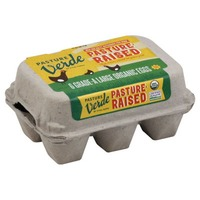 Pasture Verde Organic Pasture Raised Large Eggs