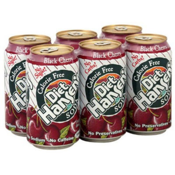 Hansen's Natural Diet Black Cherry Soda