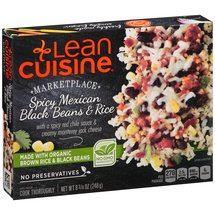 Lean Cuisine Marketplace Spicy Mexican Black Beans & Rice