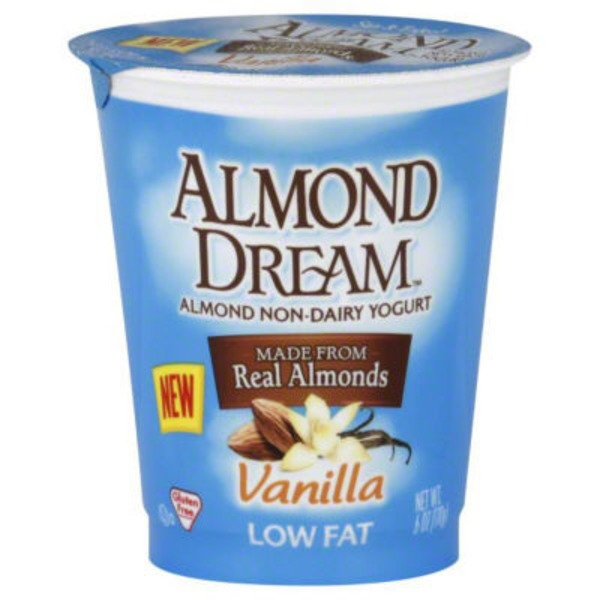 Almond Dream Low Fat Vanilla Non Dairy Yogurt