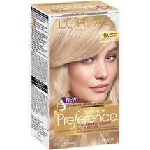 L'Oreal Paris Superior Preference Fade Defying Color and Shine System 9A Light Ash Blonde