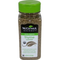McCormick Gourmet Collection 100% Organic Thyme Leaves Spice