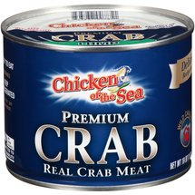 Chicken of the Sea Premium Crab Real Lump Crab Meat