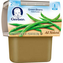 Gerber 2nd Foods Green Beans Baby Food